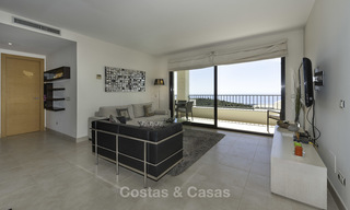 Move-in ready modern 3-bed apartment with spectacular sea and mountain views for sale in Marbella 16842
