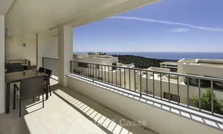 Move-in ready modern 3-bed apartment with spectacular sea and mountain views for sale in Marbella 16846