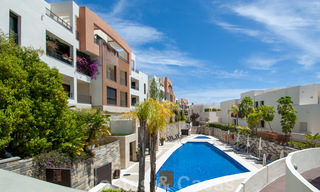 Move-in ready modern 3-bed apartment with spectacular sea and mountain views for sale in Marbella 27418
