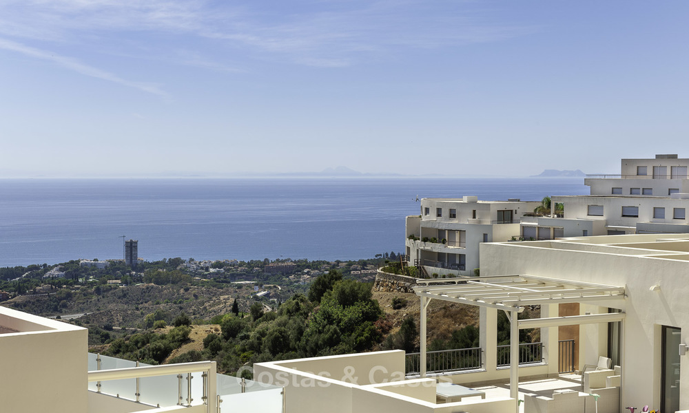 Modern move-in-ready 3-bed luxury apartment with sea and mountain views for sale in Marbella 16871