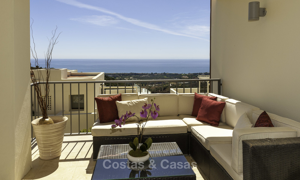 Modern move-in-ready 3-bed luxury apartment with sea and mountain views for sale in Marbella 16872