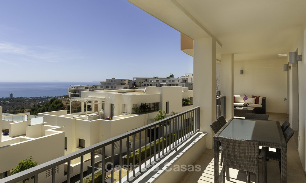 Modern move-in-ready 3-bed luxury apartment with sea and mountain views for sale in Marbella 16873