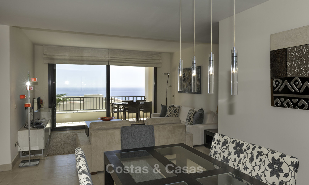 Modern move-in-ready 3-bed luxury apartment with sea and mountain views for sale in Marbella 16874