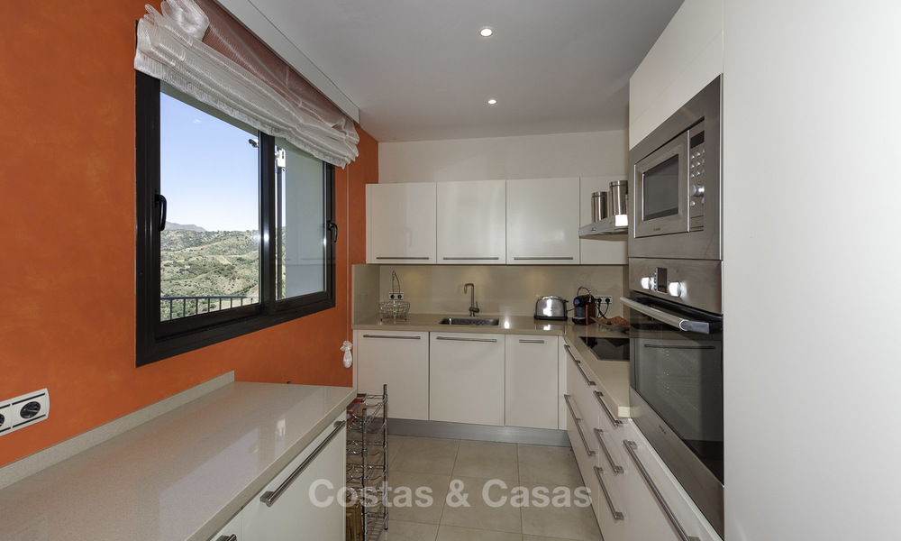 Modern move-in-ready 3-bed luxury apartment with sea and mountain views for sale in Marbella 16875