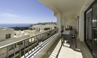Modern move-in-ready 3-bed luxury apartment with sea and mountain views for sale in Marbella 16879