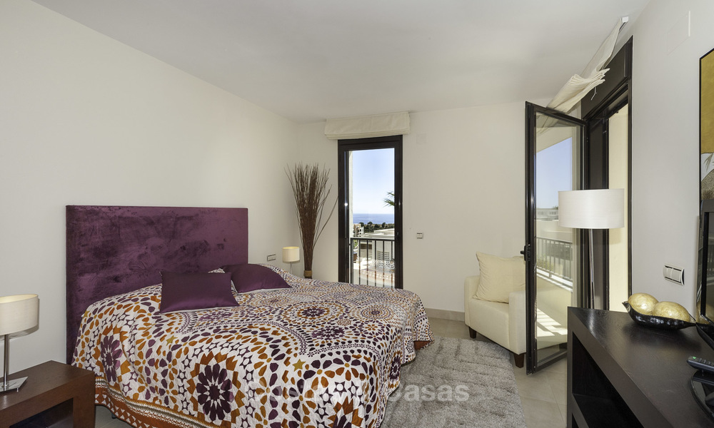 Modern move-in-ready 3-bed luxury apartment with sea and mountain views for sale in Marbella 16881