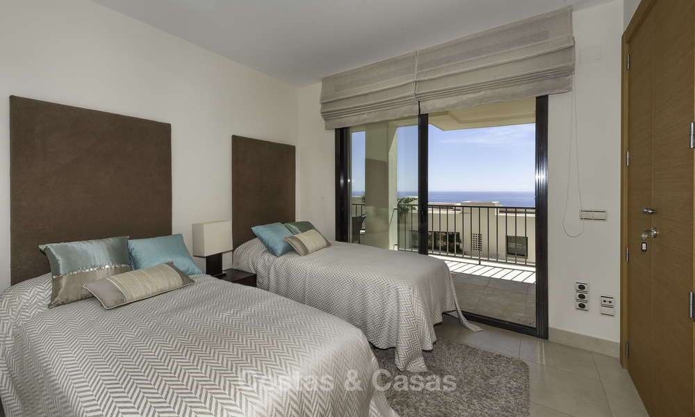Modern move-in-ready 3-bed luxury apartment with sea and mountain views for sale in Marbella 16886