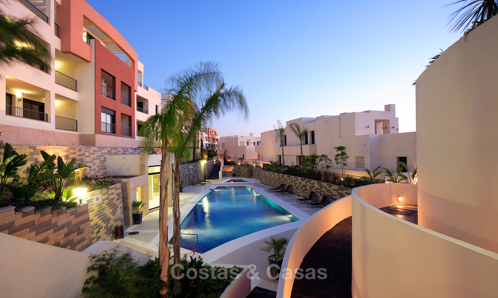 Modern move-in-ready 3-bed luxury apartment with sea and mountain views for sale in Marbella 16893
