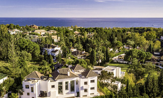 Modern-mediterranean luxury villa with guest quarters for sale, with sea views on the Golden Mile, Marbella 17039