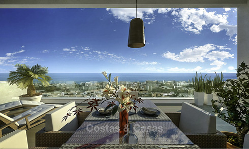 Magnificent new modern apartments for sale, walking distance to all amenities and the centre of Marbella 17054