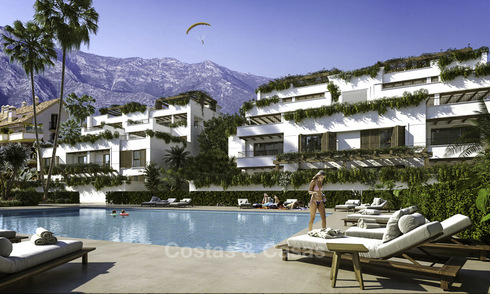 New modern luxury apartments and penthouses for sale on the Golden Mile in Marbella 17215