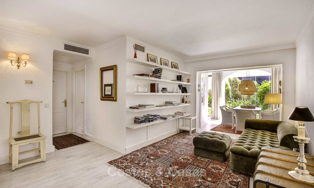 Cosy garden apartment for sale adjacent to a prestigious golf resort in Benahavis - Marbella 17063
