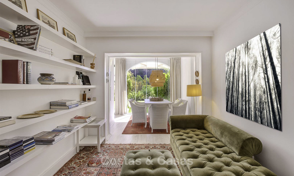 Cosy garden apartment for sale adjacent to a prestigious golf resort in Benahavis - Marbella 17064