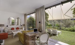 Cosy garden apartment for sale adjacent to a prestigious golf resort in Benahavis - Marbella 17069