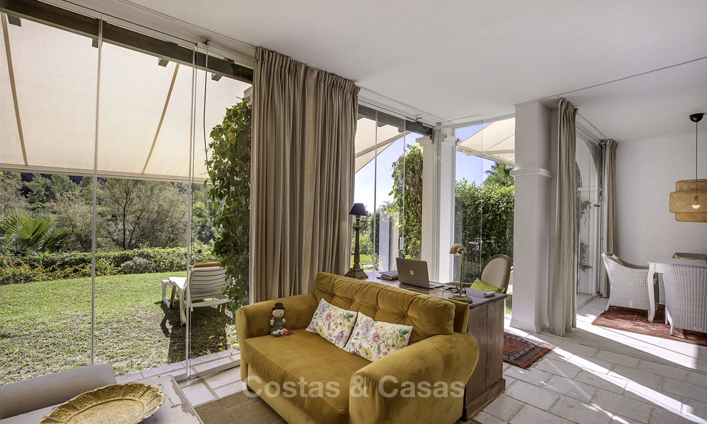 Cosy garden apartment for sale adjacent to a prestigious golf resort in Benahavis - Marbella 17071