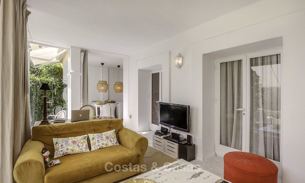 Cosy garden apartment for sale adjacent to a prestigious golf resort in Benahavis - Marbella 17072