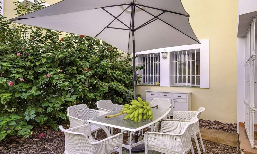 Cosy garden apartment for sale adjacent to a prestigious golf resort in Benahavis - Marbella 17073