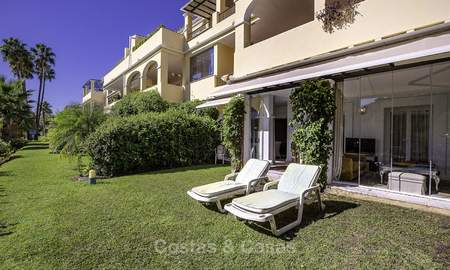 Cosy garden apartment for sale adjacent to a prestigious golf resort in Benahavis - Marbella 17076