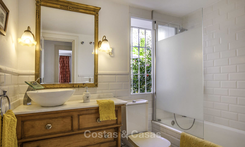 Cosy garden apartment for sale adjacent to a prestigious golf resort in Benahavis - Marbella 17080