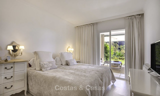 Cosy garden apartment for sale adjacent to a prestigious golf resort in Benahavis - Marbella 17081