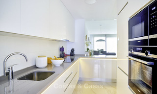 Attractive new modern apartments for sale, walking distance to beach and amenities, between Marbella and Estepona 17353