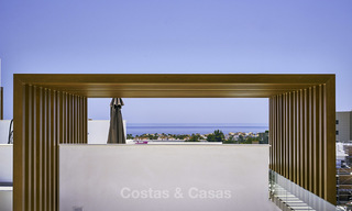 Attractive new modern apartments for sale, walking distance to beach and amenities, between Marbella and Estepona 17363