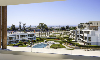 Attractive new modern apartments for sale, walking distance to beach and amenities, between Marbella and Estepona 17369