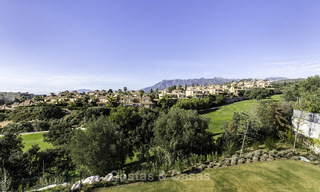 New contemporary designer villa for sale, ready to move into, with sea, golf and mountain views, East Marbella 17528