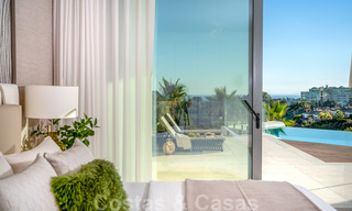 New contemporary designer villa for sale, ready to move into, with sea, golf and mountain views, East Marbella 26767
