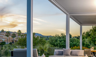 New contemporary designer villa for sale, ready to move into, with sea, golf and mountain views, East Marbella 26777
