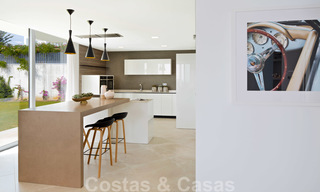 New contemporary designer villa for sale, ready to move into, with sea, golf and mountain views, East Marbella 26786