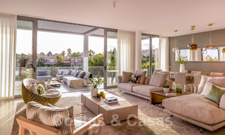 New contemporary designer villa for sale, ready to move into, with sea, golf and mountain views, East Marbella 26791