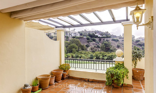 Attractive 3-bed penthouse apartment with spacious terraces and panoramic views for sale, Benahavis - Marbella 17580