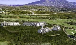 Spacious new built contemporary townhouses for sale, in a championship golf resort in Mijas 17767