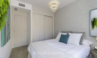 Spacious new built contemporary townhouses for sale, in a championship golf resort in Mijas 17773