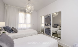 Spacious new built contemporary townhouses for sale, in a championship golf resort in Mijas 17774