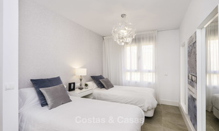 Spacious new built contemporary townhouses for sale, in a championship golf resort in Mijas 17775