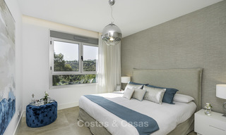 Spacious new built contemporary townhouses for sale, in a championship golf resort in Mijas 17782