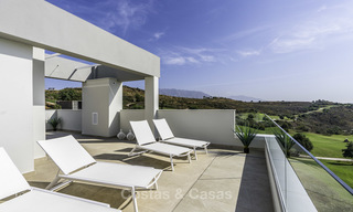 Spacious new built contemporary townhouses for sale, in a championship golf resort in Mijas 17792