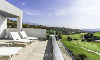 Spacious new built contemporary townhouses for sale, in a championship golf resort in Mijas 17794