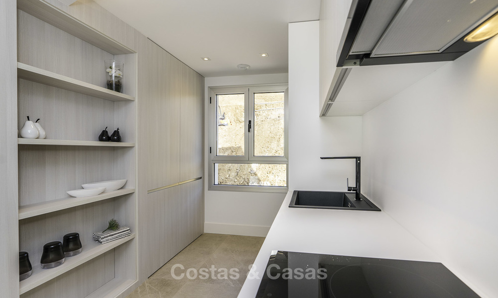 Spacious new built contemporary townhouses for sale, in a championship golf resort in Mijas 17800