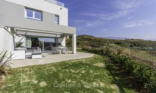 Spacious new built contemporary townhouses for sale, in a championship golf resort in Mijas 17802