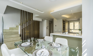 Spacious new built contemporary townhouses for sale, in a championship golf resort in Mijas 17808