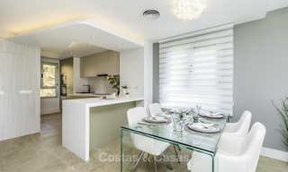 Spacious new built contemporary townhouses for sale, in a championship golf resort in Mijas 17812