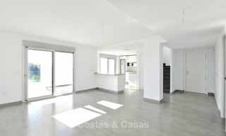 Impressive new built modern penthouse apartment for sale, with sea view, Benahavis - Marbella. Ready to move in. 17917