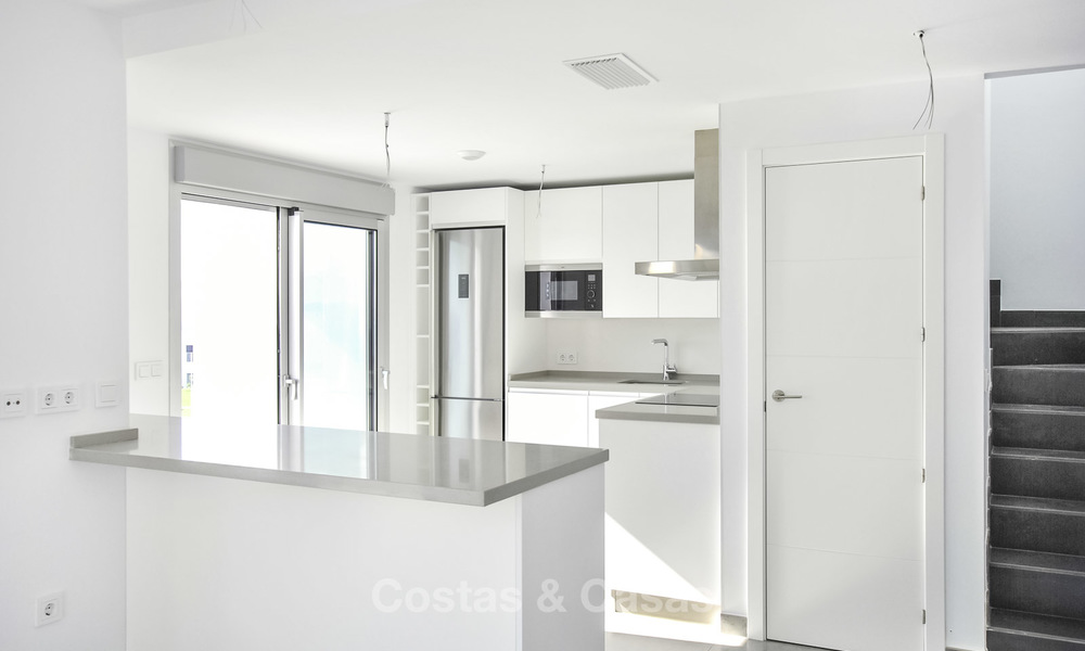Impressive new built modern penthouse apartment for sale, with sea view, Benahavis - Marbella. Ready to move in. 17918