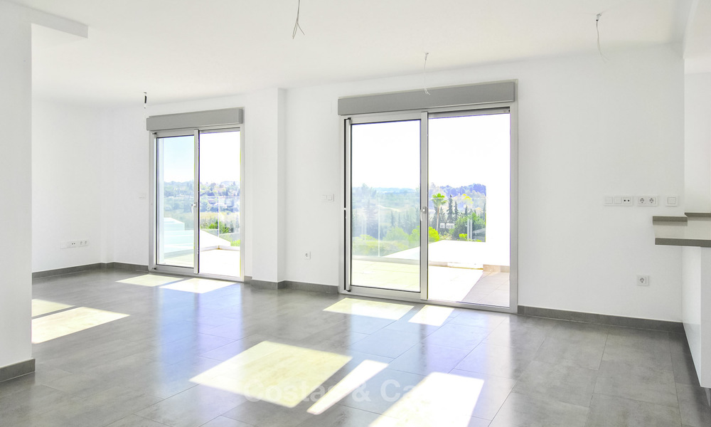 Impressive new built modern penthouse apartment for sale, with sea view, Benahavis - Marbella. Ready to move in. 17919