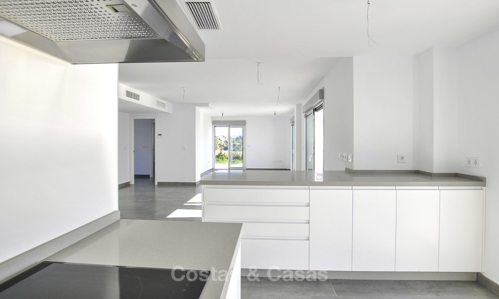 Impressive new built modern penthouse apartment for sale, with sea view, Benahavis - Marbella. Ready to move in. 17921
