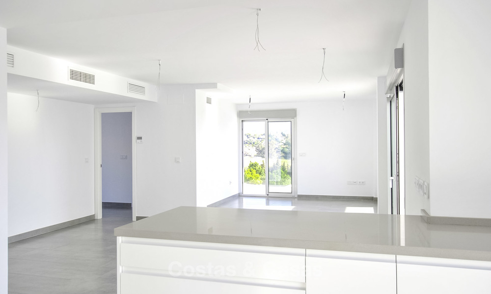 Impressive new built modern penthouse apartment for sale, with sea view, Benahavis - Marbella. Ready to move in. 17922