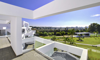 Impressive new built modern penthouse apartment for sale, with sea view, Benahavis - Marbella. Ready to move in. 17925